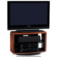 Valera Series 9723 Cherry 3-Shelf TV Stand - VALER