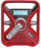 Red Hand Turbine AM/FM/NOSS Digital Weather Radio