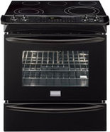 Gallery 30   Slide In Electric Range In Black - FG