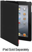 Canvas Black iPad Case - SWCANP3BK