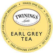 18 Count Twinings Of London Earl Grey Tea K-Cup Po