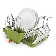 Folding Dish Rack/Wine Stem Drainer
