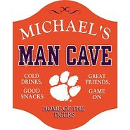 Clemson Tigers Man Cave Sign