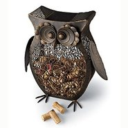 Owl Wine Cork Catcher