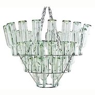 Wine Bottle Chandelier By Bonne Plat