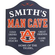 Auburn Tigers Man Cave Sign