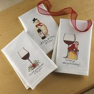 Holiday Art Kitchen Towels (Set of 3)