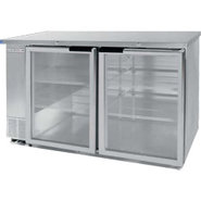 Beverage Air Back Bar Glass Door Refrigerator - 23