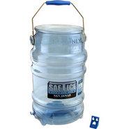 Saf-T-Ice Plastic Tote - 6 Gallon