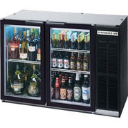 Beverage Air Back Bar Glass Door Refrigerator - 12