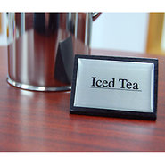 Iced Tea Tabletop Wood Block Sign