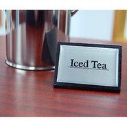 Iced Tea Tabletop Wood Block Sign