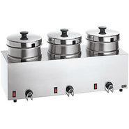 4 Quart Triple Food and Soup Server