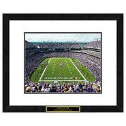 Baltimore Ravens NFL Framed Double Matted Stadium