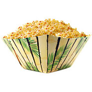 Bamboo & Palm Luau Themed Paper Snack Bowls ? Set