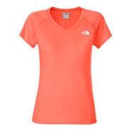 WOMENS SHORT-SLEEVE REAXION V-NECK A8L L