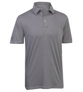 Men&#39;s Performance Pencil Stripe Polo Closeout Golf