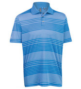 Men&#39;s Performance Ombre Stripe Polo Closeout Golf 