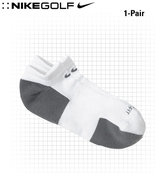 Dri-Fit Golf Essential No-Show Men&#39;s Socks White/G
