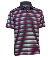 Men's Performance Stripe Polo Closeout Golf Shirt