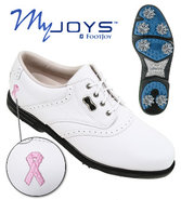 Footjoy Women&#39;s Lady Myjoys Golf Shoes Closeout Or