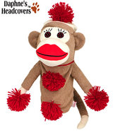 Daphne&#39;s Just For Fun Monkey Made Of Sockies Headc