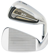Men&#39;s Cg16 Satin Chrome Irons Right Handed New