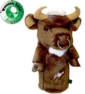 Designs Sergio Garcia's Brown Bull Headcover