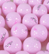 Women&#39;s Assorted Logo Over-Run Pink Golf Balls 1 D