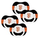 San Fran. Giants 4 Pk Baby Pacifier 3M+