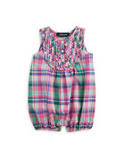 Infant&#39;s Madras Bubble Shortall