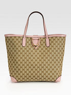 Soft Stirrup Original GG Canvas Tote