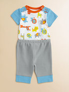 Infant's Safari Bodysuit and Pants Set