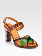 Tibitibao Leather Sandals