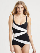One-Piece Route 66 Scoop Swimsuit