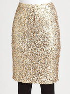 Lace/Sequin Skirt