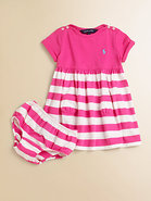 Infant&#39;s Nautical Dress &amp; Bloomers Set