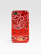 Red Bandana Case for iPhone 4/4S