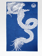 Dragon Jacquard Beach Towel