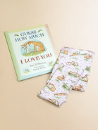 Infant&#39;s Guess How Much I Love You PJ &amp; Book Set