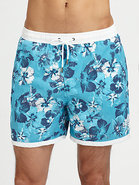 Anemone Fish Swim Trunks
