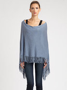 Cotton Fringe Ruana