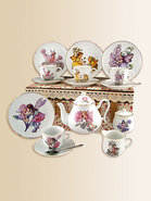 Kid&#39;s Flower Fairies Large 19-Piece Tea Set