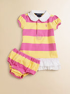 Infant&#39;s Rugby Dress &amp; Bloomers Set