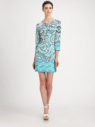 Paisley Jersey Dress
