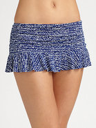 Skirted Hipster Bikini Bottom