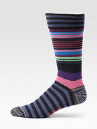 Magnificent Striped Dress Socks