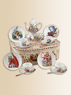 Kid&#39;s Alice In Wonderland Medium 19-Piece Tea Part