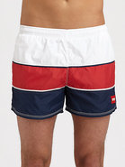 Butteryfly Fish Swim Trunks