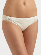 Delicate Lace High-Cut Brief